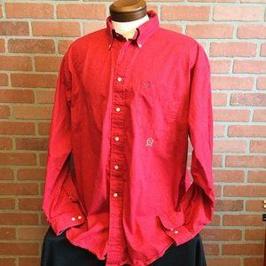 Tommy Hilfiger vintage button front shirt XL (KK51